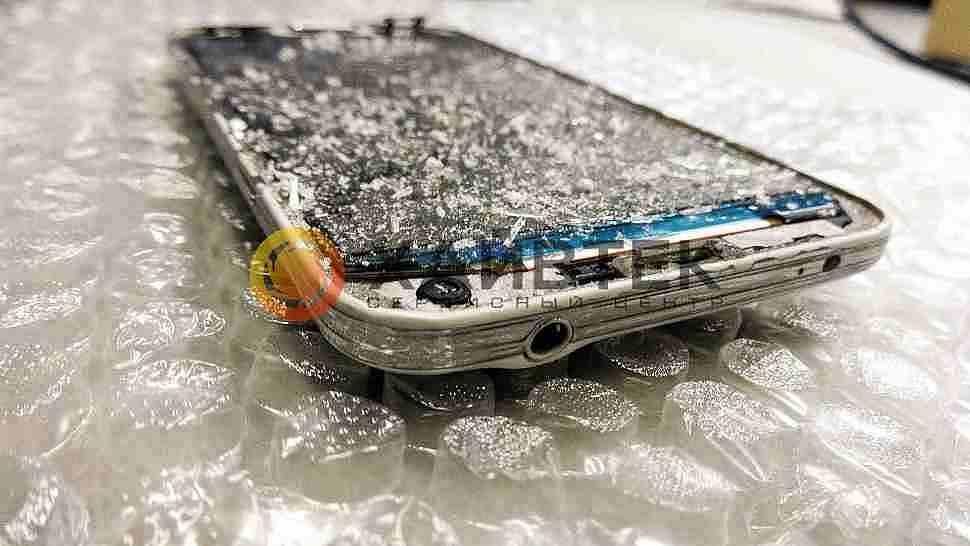 Ремонт Samsung galaxy S5. Замена стекла