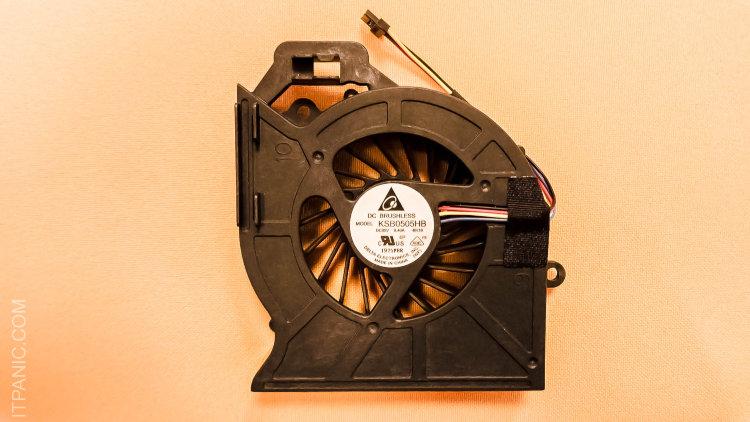 KSB0505HB Вентилятор для HP Pavilion DV6 6000 DV7 6000 [СОВМЕСТИМЫЙ>